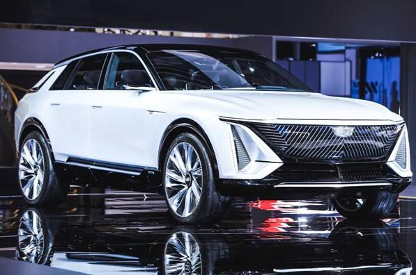 凯迪拉克LYRIQ概念车用实力说话,整车造型别具风格!