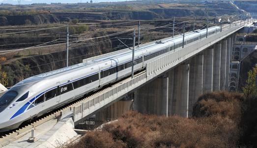 青岛造动车跑出385公里时速