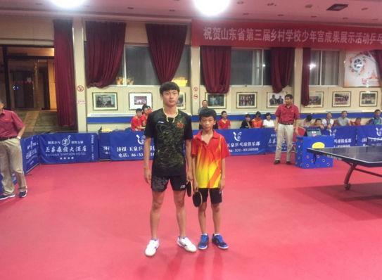 全省乡村学校少年宫乒乓球比赛临沂罗庄娃获佳绩