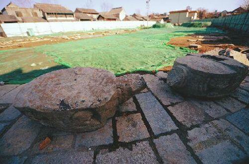 老济南最早泰山行宫揭开神秘面纱 遗址已有500年历史